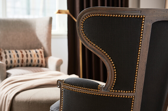 Example of Queen Anne Upholstery Work